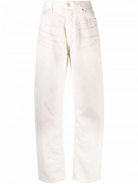 Прямые джинсы классические - белые Eytys