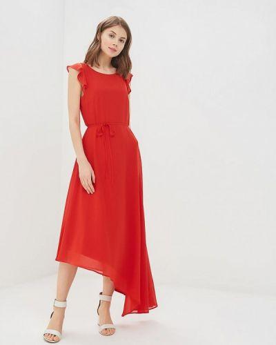 Красное платье Tom Tailor