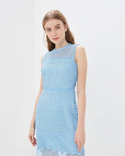 Платье - голубое Warehouse