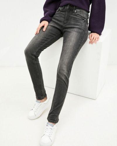 Зауженные джинсы - серые Q/s Designed By