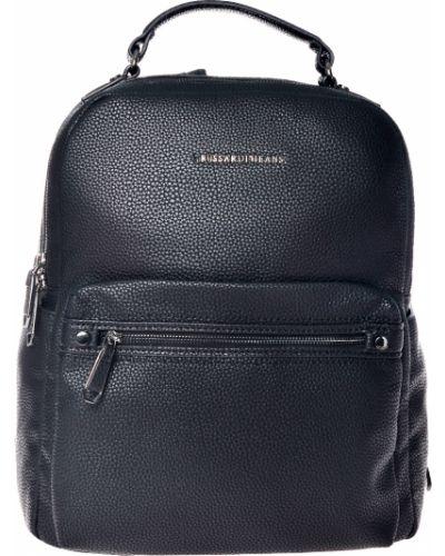 Кожаный рюкзак - черный Trussardi Jeans