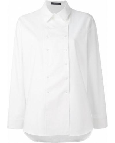 Белая рубашка хлопковая Cédric Charlier