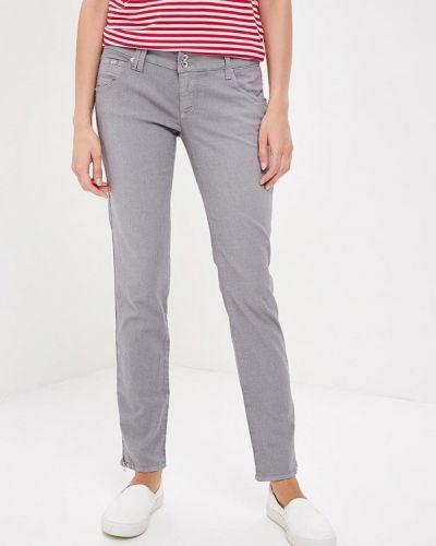 Серые зауженные брюки Gas