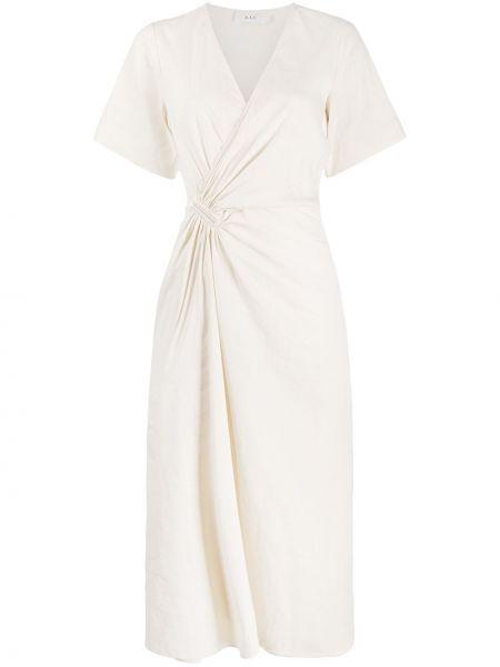 Платье мини с запахом с V-образным вырезом Alc