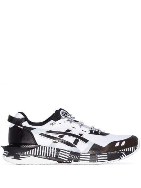 Sneakersy białe czarne Asics