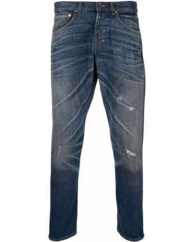 Klasyczne niebieskie jeansy z paskiem Prps