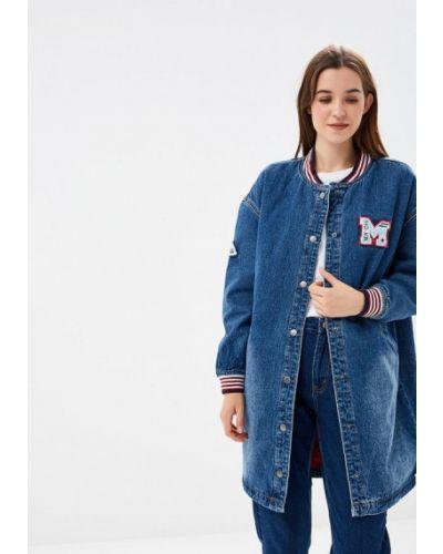 Джинсовая куртка осенняя демисезонная Befree