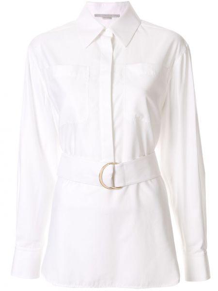 Biała klasyczna koszula elegancka bawełniana Stella Mccartney