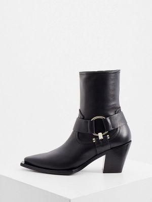 Черные итальянские ботинки Ballin