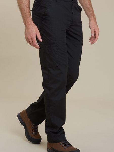 Spodnie bawełniane - czarne Mountain Warehouse