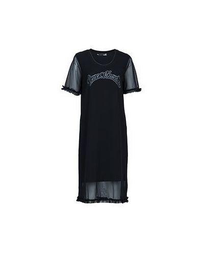Платье черное Moschino Love