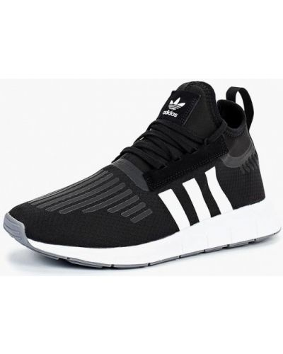 Черные высокие кроссовки Adidas Originals b59f8b47cbd