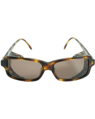 Brązowe okulary Chanel Vintage