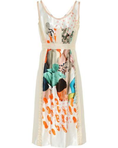 Платье бежевое Marni