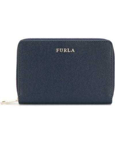 Синий кошелек Furla