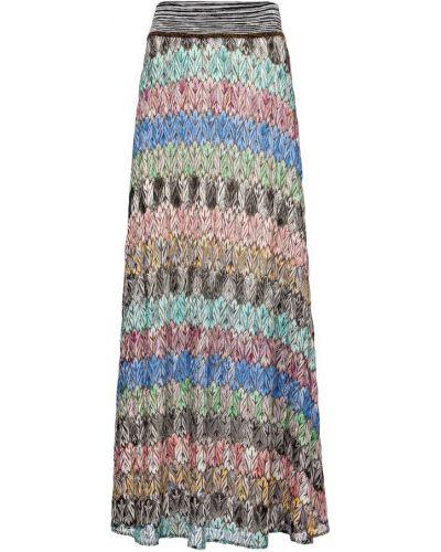 Шелковая юбка миди Missoni