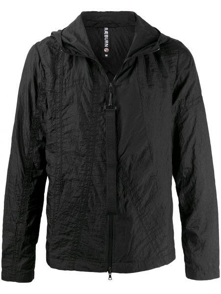 Anorak kurtka z kapturem czarny Raeburn