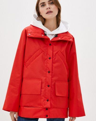 Теплая красная куртка Be Main