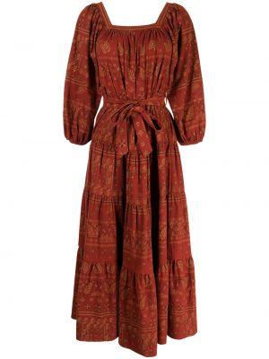 Хлопковое платье - красное Mes Demoiselles