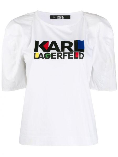 Топ свободный свободного кроя Karl Lagerfeld