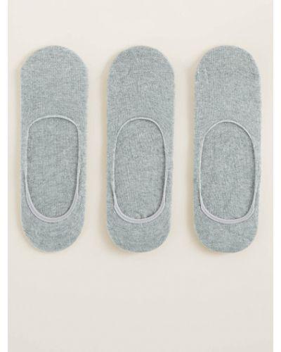Короткие носки однотонные хлопковые Mango Man