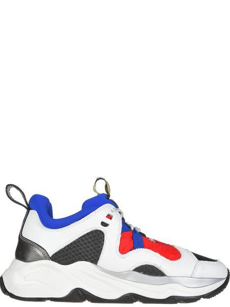 Кожаные кроссовки Fabi
