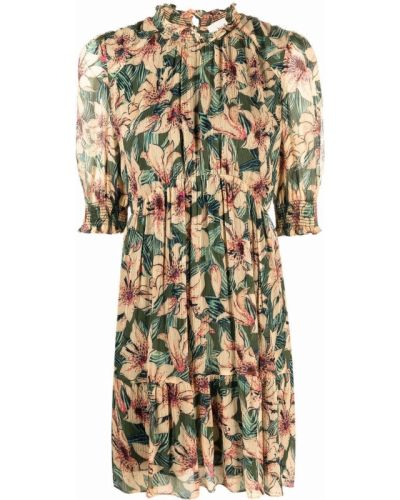 Платье мини в цветочный принт Ba&sh