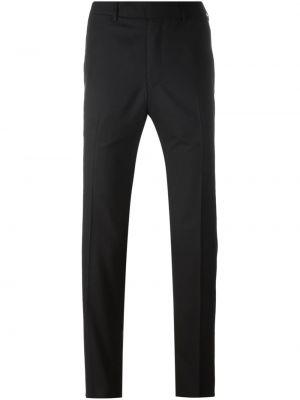 Czarne spodnie wełniane Fashion Clinic Timeless