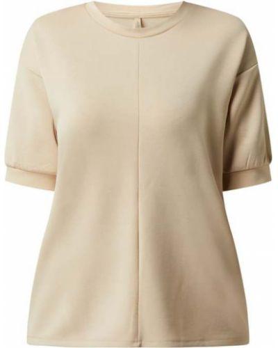 Beżowa bluzka krótki rękaw Soyaconcept