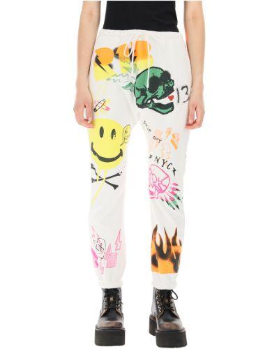 Białe spodnie R13