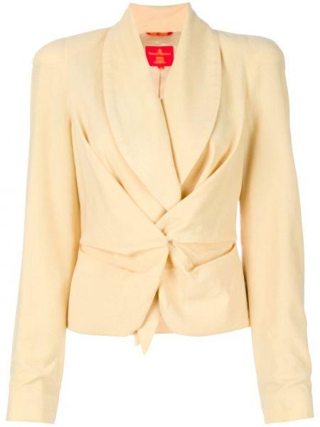 Удлиненный пиджак винтажный Vivienne Westwood Pre-owned