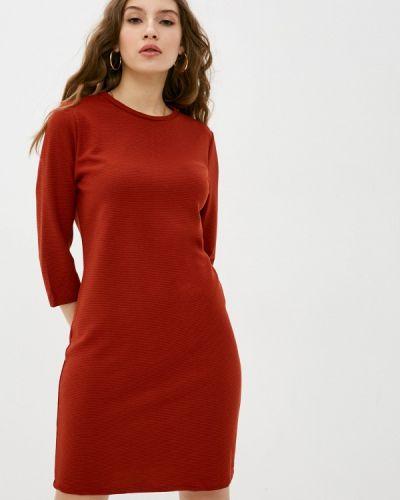 Коричневое прямое платье Sublevel