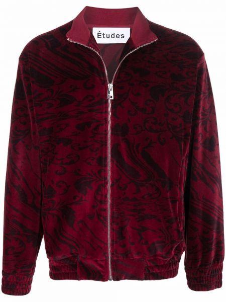 Sweter bawełniany bordowy Etudes