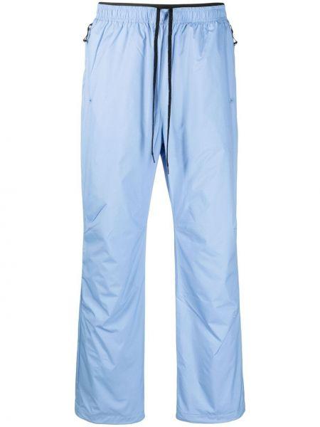 Niebieskie spodnie materiałowe Soulland