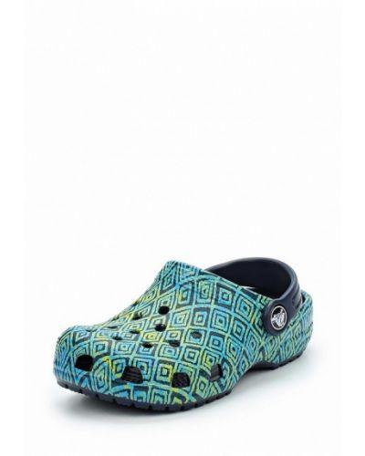Зеленое сабо Crocs