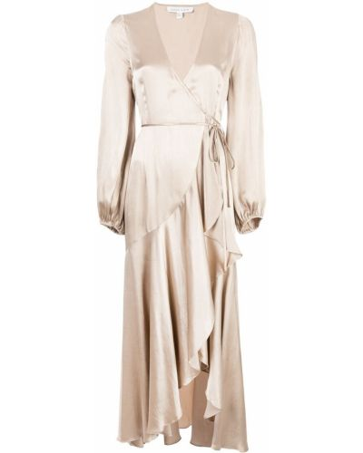 Платье с запахом с V-образным вырезом Shona Joy