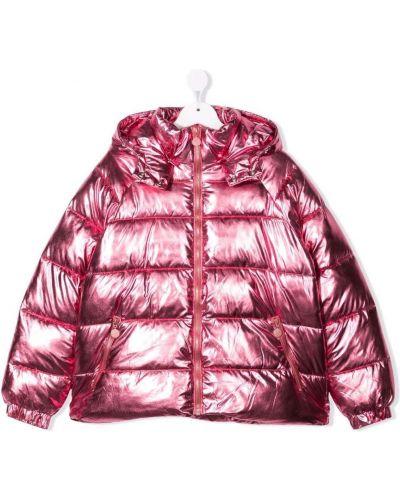 Różowa klasyczna kurtka Stella Mccartney Kids