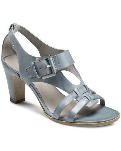 Босоножки на каблуке высокие с подкладкой Ecco