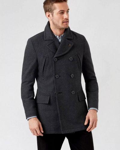 Серое пальто Burton Menswear London