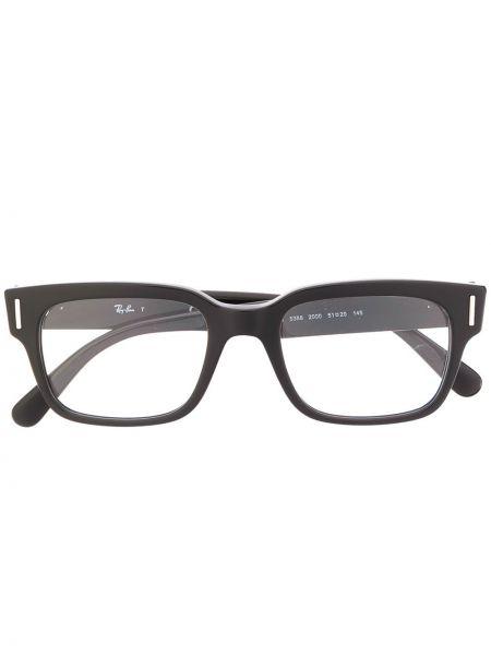 Prosto czarny oprawka do okularów plac Ray-ban