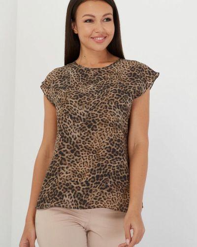 Блузка с коротким рукавом шелковая Silk Me