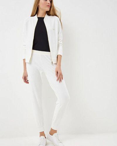 Белый домашний костюм Emporio Armani