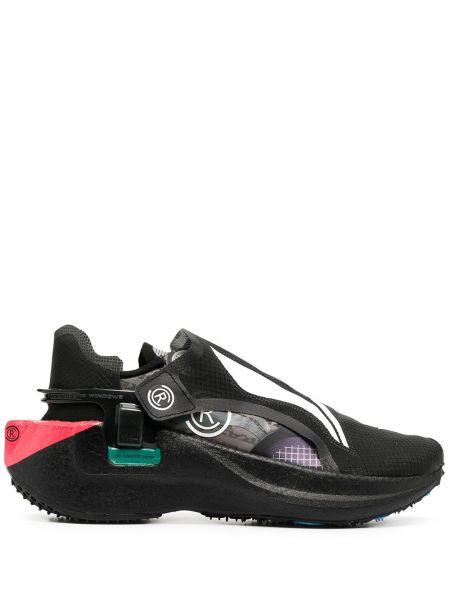 Кроссовки на каблуке - черные Li-ning