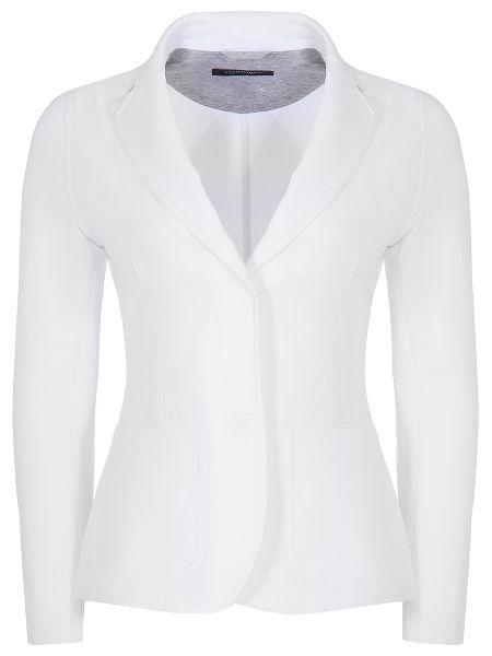 Повседневный приталенный пиджак с воротником на кнопках Capobianco