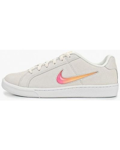 Кеды белый замшевые Nike