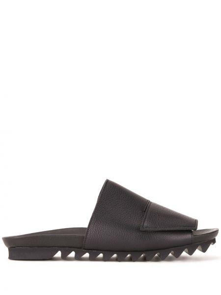 Кожаные черные сандалии Peter Non