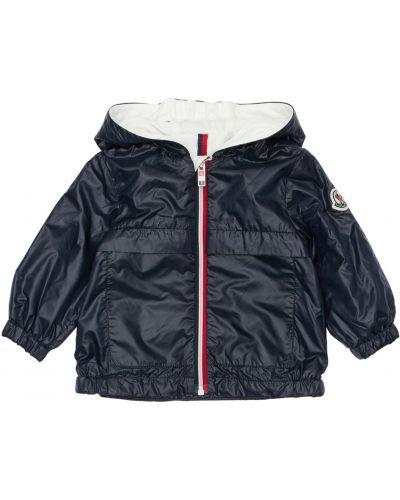 Bawełna bawełna kurtka z mankietami prążkowany Moncler