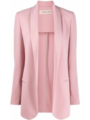 Куртка розовая с карманами Blanca Vita
