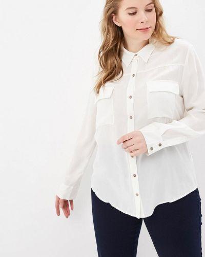 Блузка с длинным рукавом белая Sack's