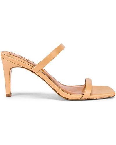 Beżowe sandały skorzane Jaggar